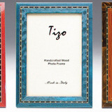 Tizo Persia 5 x 7 Inch Wood Picture Frame - Blue