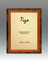 Tizo Persia 4 x 6 Inch Wood Picture Frame - Brown, MPN: FR20BRN-46