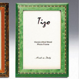 Tizo Persia 5 x 7 Inch Wood Picture Frame - Green