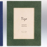 Tizo Dots 4 x 6 Inch Wood Picture Frame - Green
