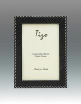 Tizo Zebra 5 x 7 Inch Wood Picture Frame - Black, MPN: OBL20BK-57