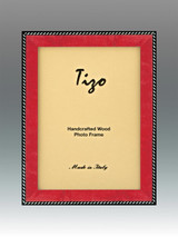 Tizo Zebra 8 x 10 Inch Wood Picture Frame - Red, MPN: OBL20RD-80