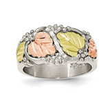 Ring 12k Gold Sterling Silver MPN: QBH237, UPC: 31902131318