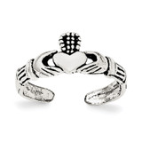 Claddagh Toe Ring Sterling Silver MPN: QR6039