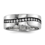CZ Channel Ring Sterling Silver MPN: QR6362