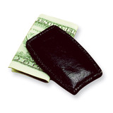 Black Leather Money Clip, MPN: GL8799, UPC: 47105565010