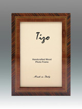 Tizo Middle Line 4 x 6 Inch Wood Picture Frame, MPN: ANTBRN2-46