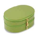 Lime Leather Two Level Jewelry Case, MPN: GM13312, UPC: 797140506416