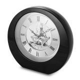 Black Interactive Gear Desktop Clock, MPN: GM13683, UPC: 633944006243