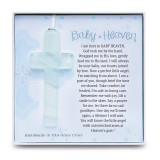 Baby Heaven Glass Cross, MPN: GM14254, UPC: 667788303527