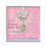 Baby Girl Angel Ornament with Sentiment, MPN: GM14276, UPC: 667788302872