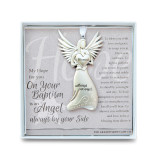 Baptism Angel Ornament with Sentiment, MPN: GM14279, UPC: 667788302926