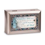 Someone Special Petite Jeweled Silver-tone Music Box, MPN: GM14493, UPC: 633303814908