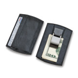 Black Faux Leather Card Case with Money Clip, MPN: GM14700, UPC: 47105565645