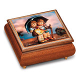 Artist Hummel Stormy Weather Music Box, MPN: GM15106, UPC: 802192910502