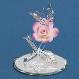 Butterfly Mom I Love You Figurine Glass Baron, MPN: GM15111, UPC: 708873031359