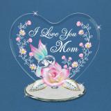 Hummingbird I Love You Mom Figurine Glass Baron, MPN: GM15123, UPC: 708873031328