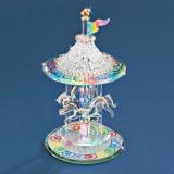 Carousel Figurine Glass Baron, MPN: GM15133, UPC: 708873020605
