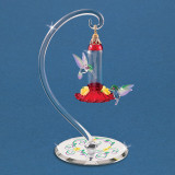Hummingbirds Sweet Feeder Figurine Glass Baron, MPN: GM15135, UPC: 708873030369