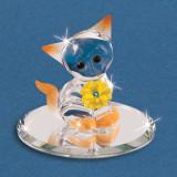 Sunshine Kitty Figurine Glass Baron, MPN: GM15141, UPC: 708873030352