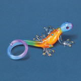 Gecko Desert Diamond Figurine Glass Baron, MPN: GM15142, UPC: 708873031113
