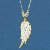 Angels Wing Necklace Glass Baron, MPN: GM15170, UPC: 708873034039