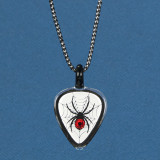 Spider, Guitar Pick Necklace Glass Baron, MPN: GM15181, UPC: 708873033995