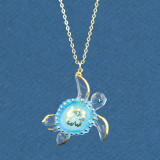 Sea Turtle Aloha Necklace Glass Baron, MPN: GM15182, UPC: 708873033759