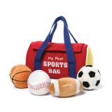 Baby Gund My 1st Sportsbag Plush Playset, MPN: GM15309, UPC: 283990715486
