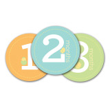 Neutral Baby Milestone Stickers, MPN: GM15705, UPC: 698904600329