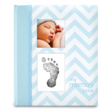 Blue Chevron Baby Book, MPN: GM15708, UPC: 698904351160