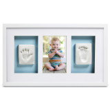 White Babyprints Deluxe Wall Picture Frame, MPN: GM15712, UPC: 698904115137