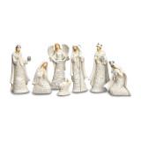 Paper Cut Style 7-piece Nativity with Angel Set, MPN: GM15783, UPC: 89945535204
