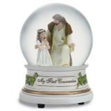 Glitterdome Musical Jesus with Girl, MPN: GM15804, UPC: 89945506464