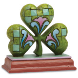 Jim Shore Shamrock Mini Figurine, MPN: GM16227, UPC: 455446696032