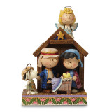 Peanuts Jim Shore Charlie Brown and Lucy Christmas Pageant Figurine, MPN: GM16250, UPC: 455446984436