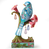 Jim Shore Bird & Spring Flowers Figurine, MPN: GM16699, UPC: 455448424022