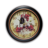 Valencia Wine & Grape Dial Wall Clock with Silent Movement, MPN: GM17587, UPC: 731742001481