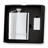 8 oz. Stainless Steel Flask & Money Clip Gift Set, MPN: GM2711, UPC: 788089109028