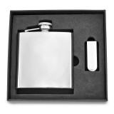 6 oz. Stainless Steel Flask and Money Clip Gift Set, MPN: GM2714, UPC: 788089084721