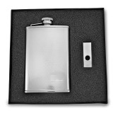 8 oz. Stainless Steel Flask & Money Clip Gift Set, MPN: GM2724, UPC: 788089084677