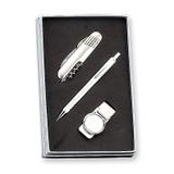 Pen, Knife and Money Clip Set, MPN: GM2813, UPC: 788089088309