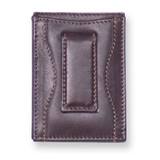 Black Leather Money Clip Card Case, MPN: GM4741, UPC: 892925024137