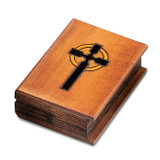 Wooden Hand Carved & Stained Bible Box, MPN: GM8527, UPC: 610939074524