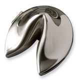 Nickel-plated Fortune Cookie Box, MPN: GP5185, UPC: 15227104141