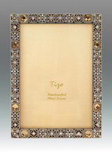 Tizo Busy Jewels 5 x 7 Inch Jeweltone Picture Frame, MPN: RS904TP-57