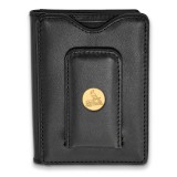 MLB St. Louis Cardinals Black Leather Wallet in Gold-plated Sterling Silver MPN: GP011CRD-W1 UPC: 191101103933