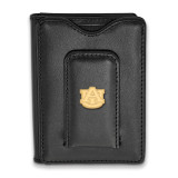 Auburn University Black Leather Wallet in Gold-plated Sterling Silver MPN: GP013AU-W1 UPC: 886774321592