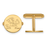 University of Notre Dame Cufflinks in Gold-plated Sterling Silver MPN: GP054UND UPC: