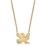University of Notre Dame Small Pendant with Necklace in Gold-plated Sterling Silver MPN: GP057UND-18 UPC: